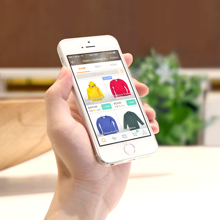 Bindo Marketplace on iPhone